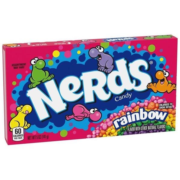 Wonka Nerds Rainbow Box