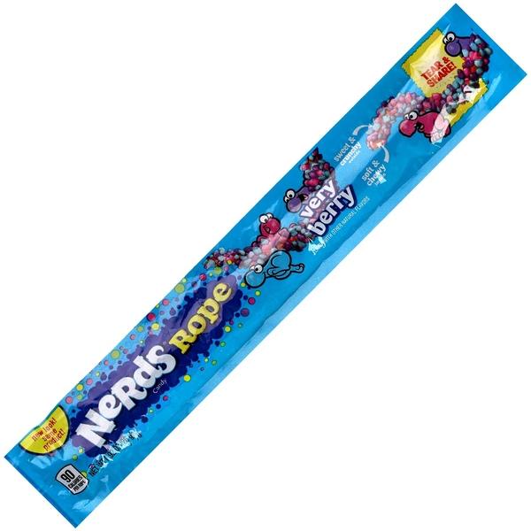 American sweets Wonka Nerds Rope Very Berry Tüte
