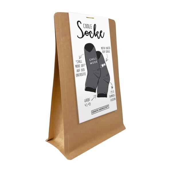 Kamellebuedchen Shop Deko & Heim Mode Grafik Werkstatt Socken Chill Mode