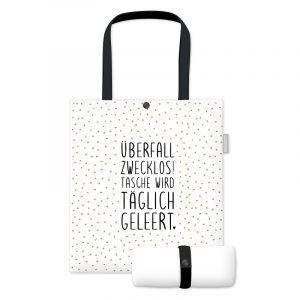 Kamellebuedchen-Shop-Textiles-Grafik-Werkstatt-Baumwoll-Beutel-Überfall-Zwecklos