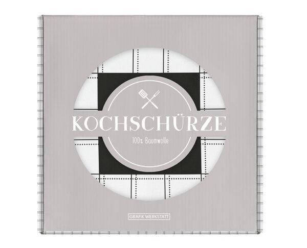 Kamellebuedchen Shop Textiles Grafik Werkstatt Kochschürze Wein Verpackt