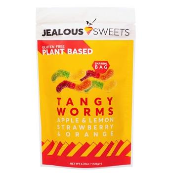 Saures Weingummi Jealous Sweets Tangy Worms Tüte