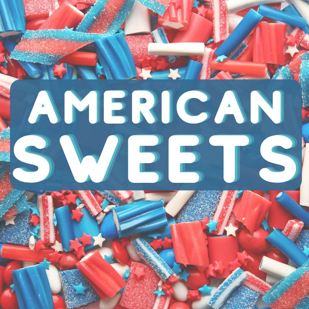 Kamellebuedchen Shop American sweets Kategoriebild