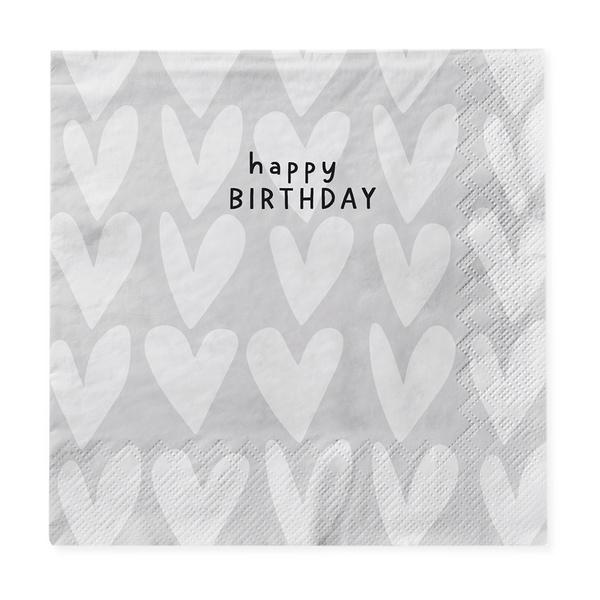 Grafik Werkstatt Serviette: Happy Birthday