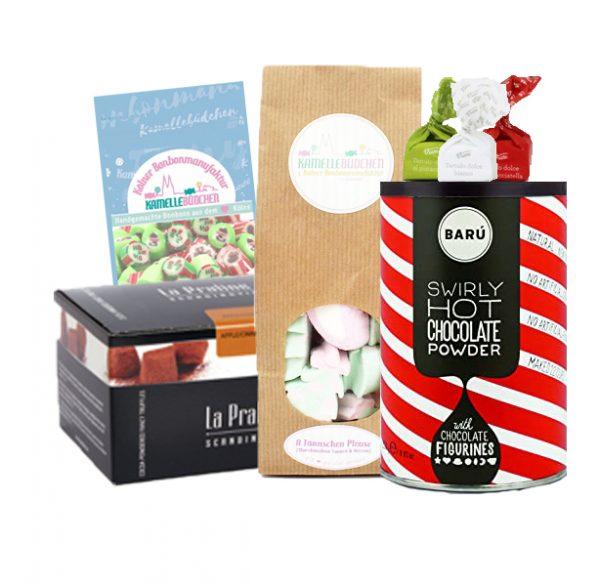 Kamellebuedchen Shop Süßigkeitenboxen Süße Weihnachtsbox Premium