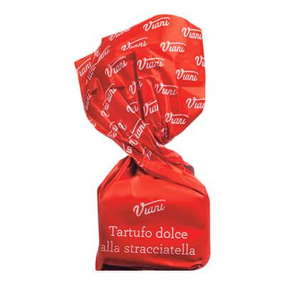 Kamellebuedchen Shop Pralinen Tartufo Stracciatella Einzel