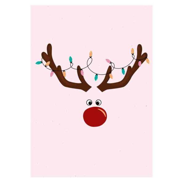 Kamellebuedchen Shop Grußkarten Weihnachtskarte Rudi