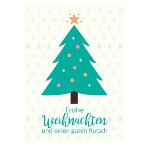 """Weihnachtskarte """"Tannenbaum"""""""