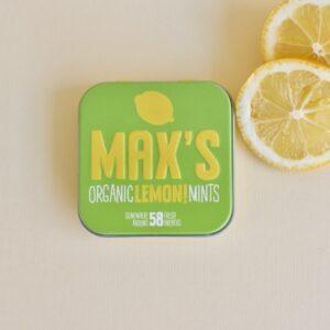 Max's Mints: Minzpastillen Lemon