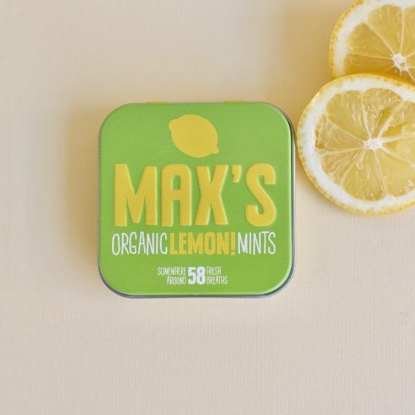 Kamellebuedchen Shop Lutschpastillen Max's Mints Lemon