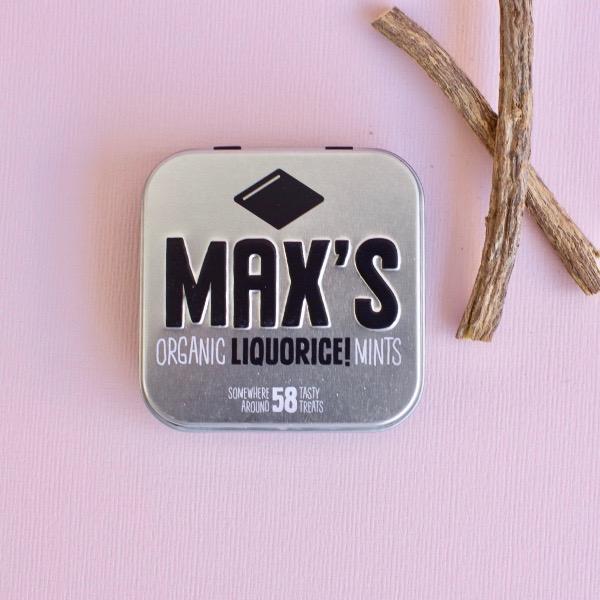 Kamellebuedchen Shop Lutschpastillen Max's Mints Liquorice