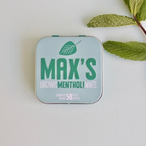 Kamellebuedchen Shop Lutschpastillen Max's Mints Menthol