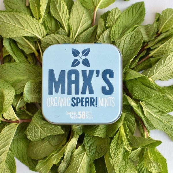 Kamellebuedchen Shop Lutschpastillen Max's Mints Spearmint