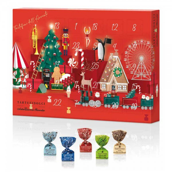 Kamellebuedchen Shop Schokolade Pralinen Adventskalender 2021 Tartufo