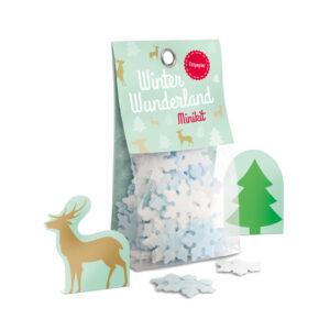 Esspapier-Schneeflocken: Winter Wonderland Minikit