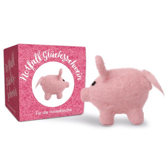 Kamellebüdchen Shop Weihnachten Kleine Geschenke Notfall Filz Glücksschwein