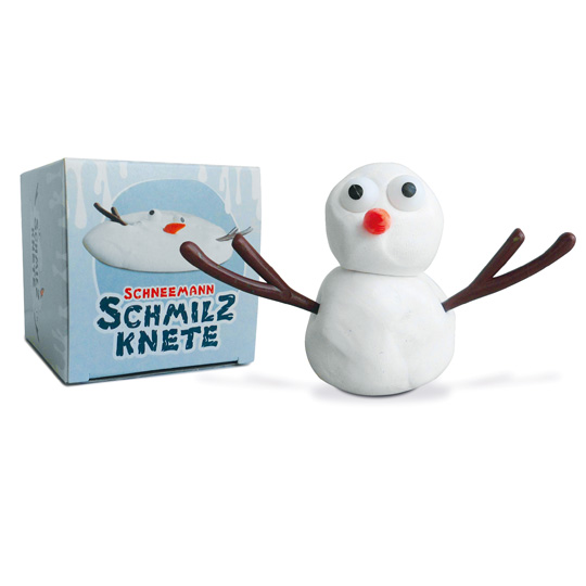 Kamellebüdchen Shop Weihnachten Kleine Geschenke Schneemann Schmilzknete